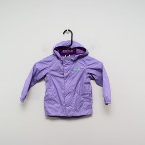 The North Face Tailout Rain Jacket 2T Purple
